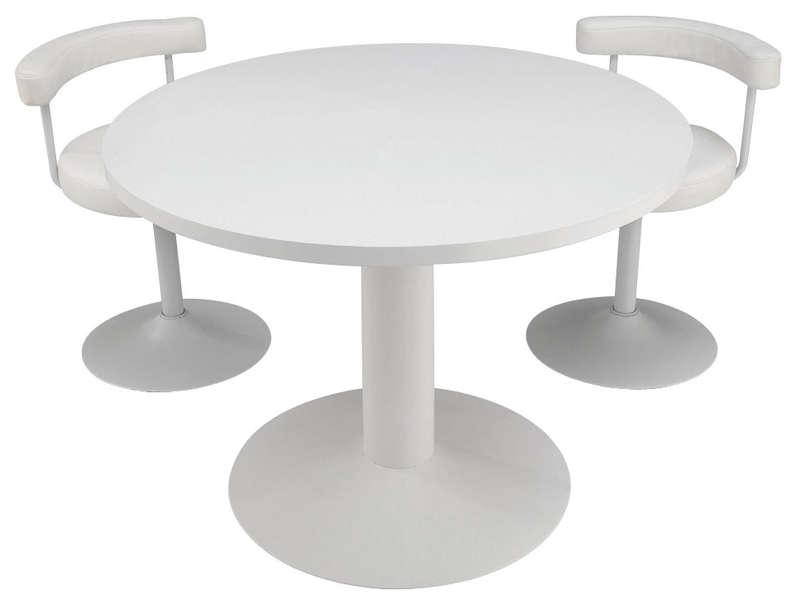 Ensemble table et chaise conforama fabulous good for Petite table ronde cuisine conforama