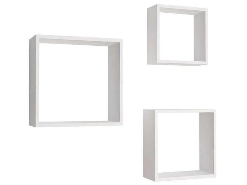 etagere murale cube conforama