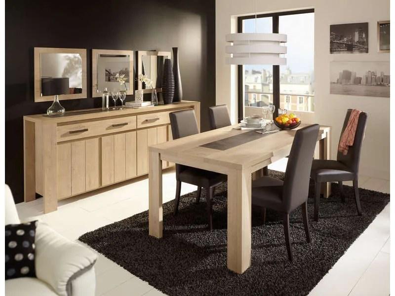 Table Rectangulaire 180 Cm BREST NATURE Coloris Chne