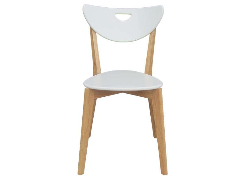 chaise cuisine bois paille