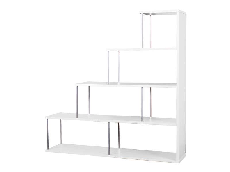 Etagre escalier LIMA coloris blanc  Vente de Etagre  Conforama
