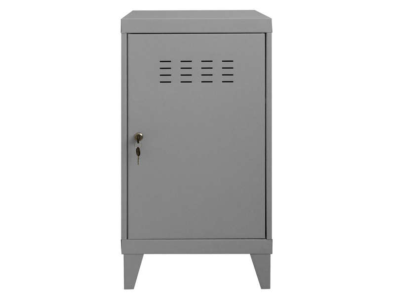 casier new line coloris gris vente de accessoires de chambre enfant conforama