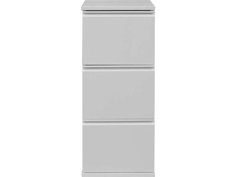 caisson 3 tiroirs primo coloris blanc vente de accessoires de bureau conforama