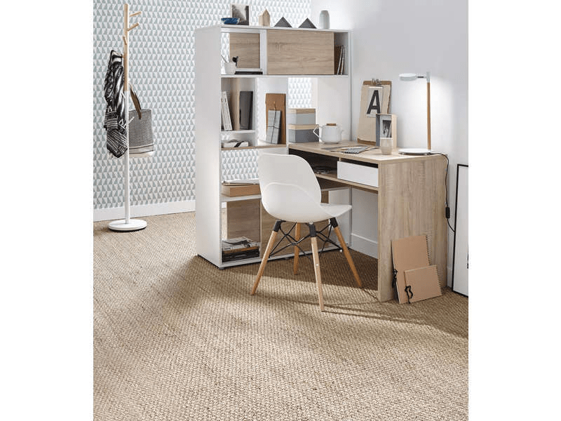 Bureau blanc conforama bureau cm rangement klass coloris