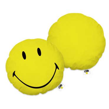 Coussin 36x36 cm 3D SMILEY