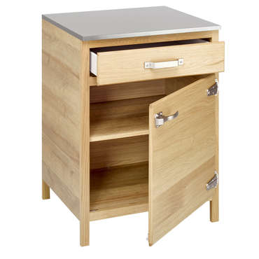 meuble bas 66 cm 1 porte 1 tiroir b