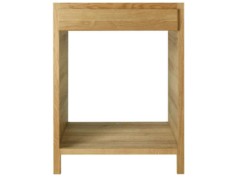 meuble bas 66 cm pour four et plaque b