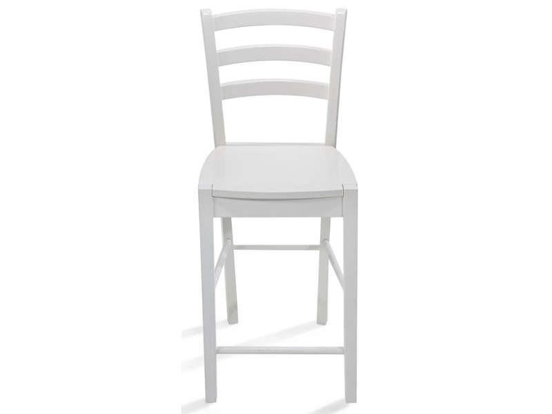 chaise haute juliette coloris blanc
