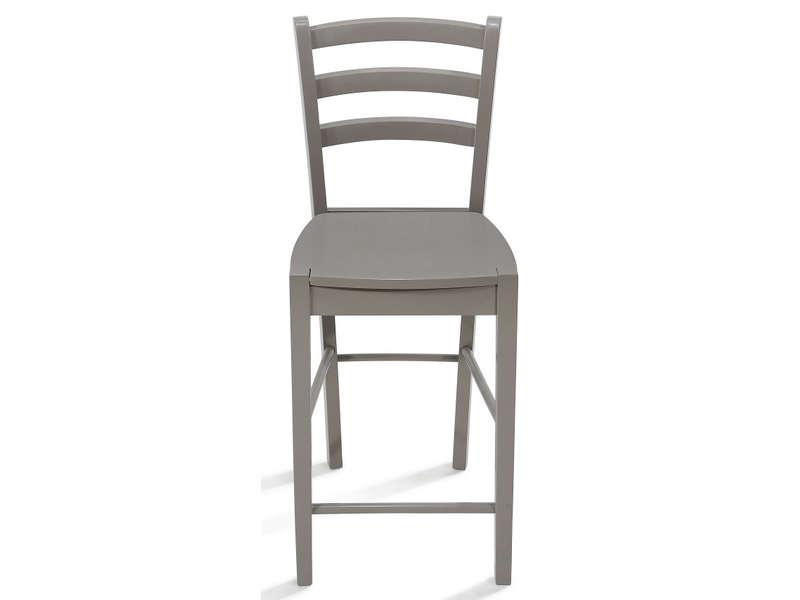 chaise haute juliette coloris taupe