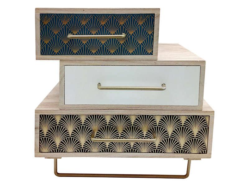 mini meuble 3 tiroirs