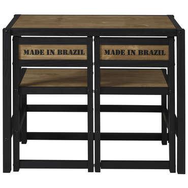 ensemble table et 2 chaises de cuisine 687530