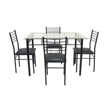 ensemble table et chaises rectangulaire