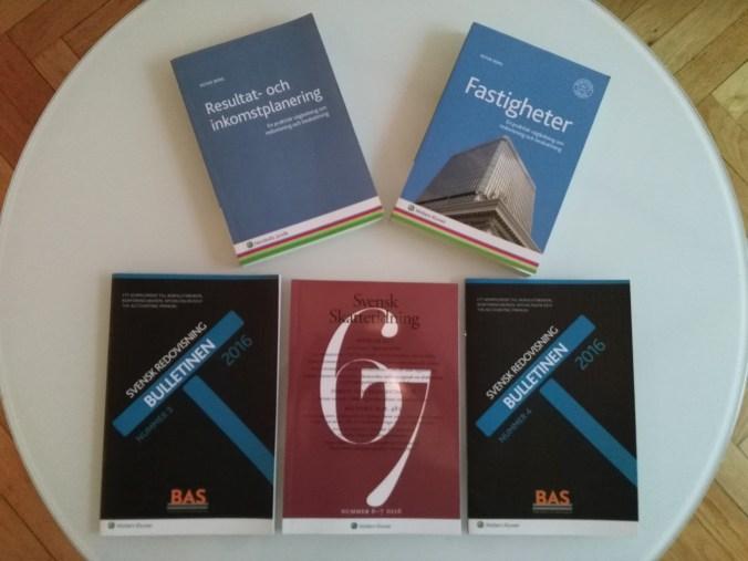 Resultat- och inkomstplanering Fastigheter Bulletinen Svensk Skattetidning SvSkt Pågående arbeten Tantiem