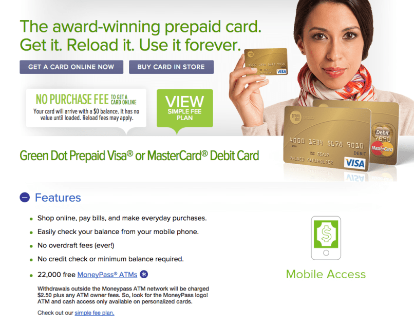 top 2 564 complaints and reviews about green dot prepaid cards - Green Dot Visa Debit Card
