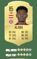 Alaba FUT 20