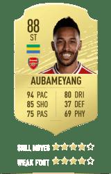Aubameyang FUT 20