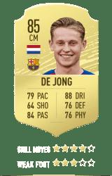 De Jong FUT 20
