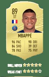 Mbappé FUT 20