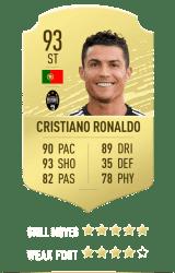Cristiano Ronaldo FUT 20