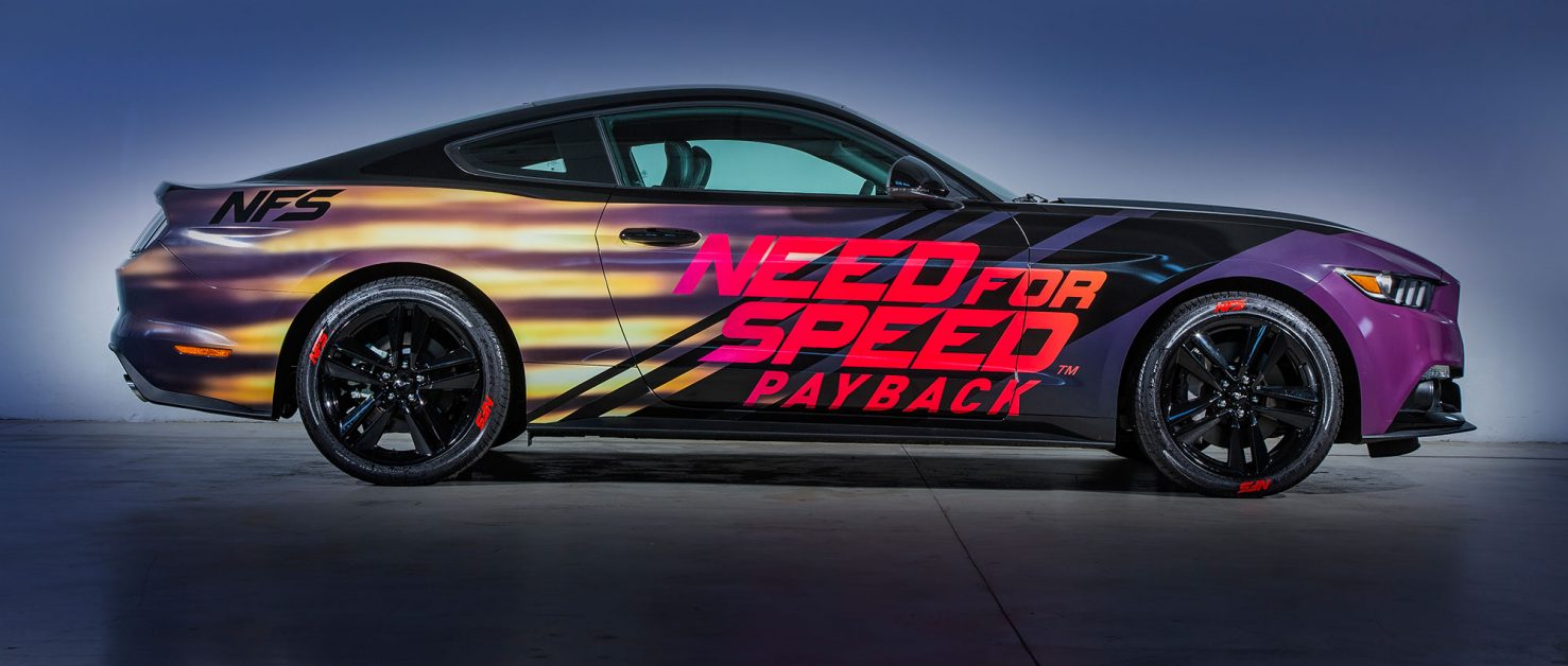 Nasce La Ford Mustang Personalizzata Need For Speed Payback