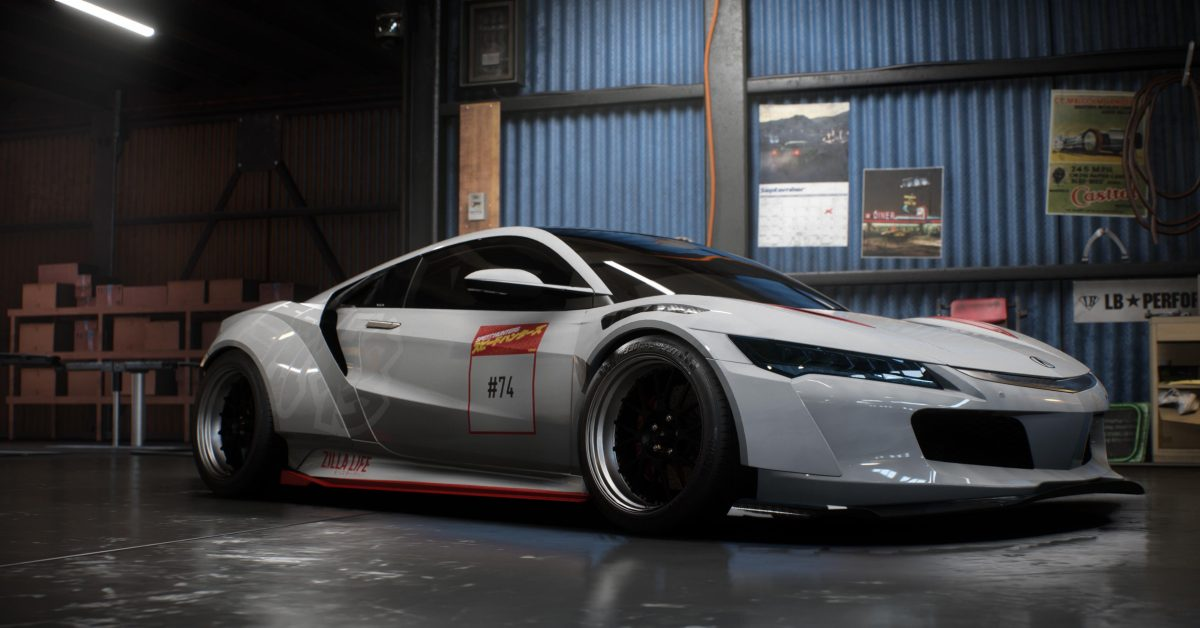 Acura NSX Setup Der Woche Need For Speed Payback