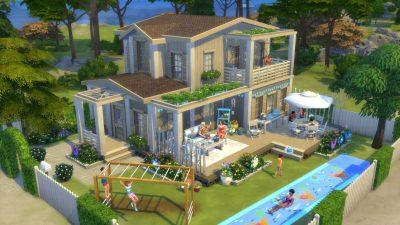갤러리 스포트라이트: The Sims 4 마당 꾸미기 아이템팩의 추천 부지 5개!