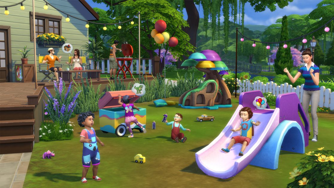 Set A Play Date With The Sims 4 Toddler Stuff Pack Out Now