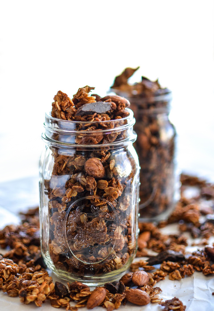 Recipes: Coconut Almond Granola – FABULOUS RED