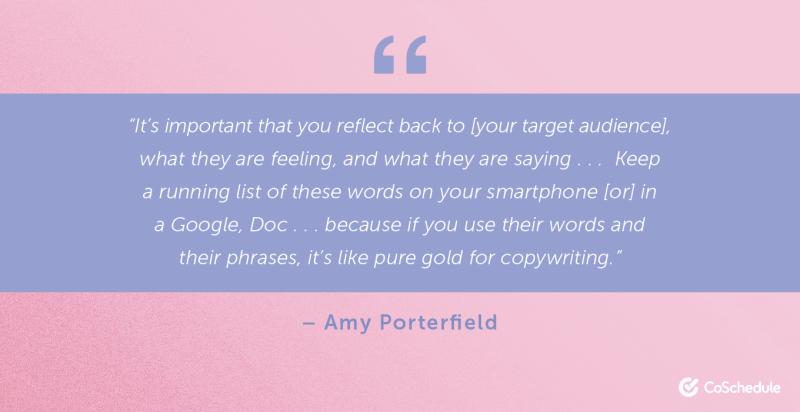 Amy Porterfield quote