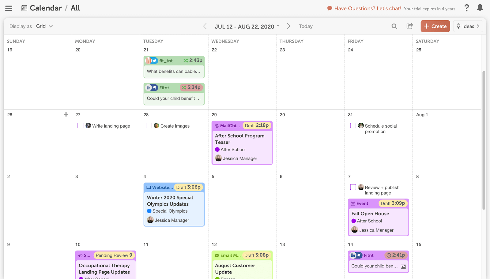 Connect your Google calendar with your CoSchedule Marketing Calendar.