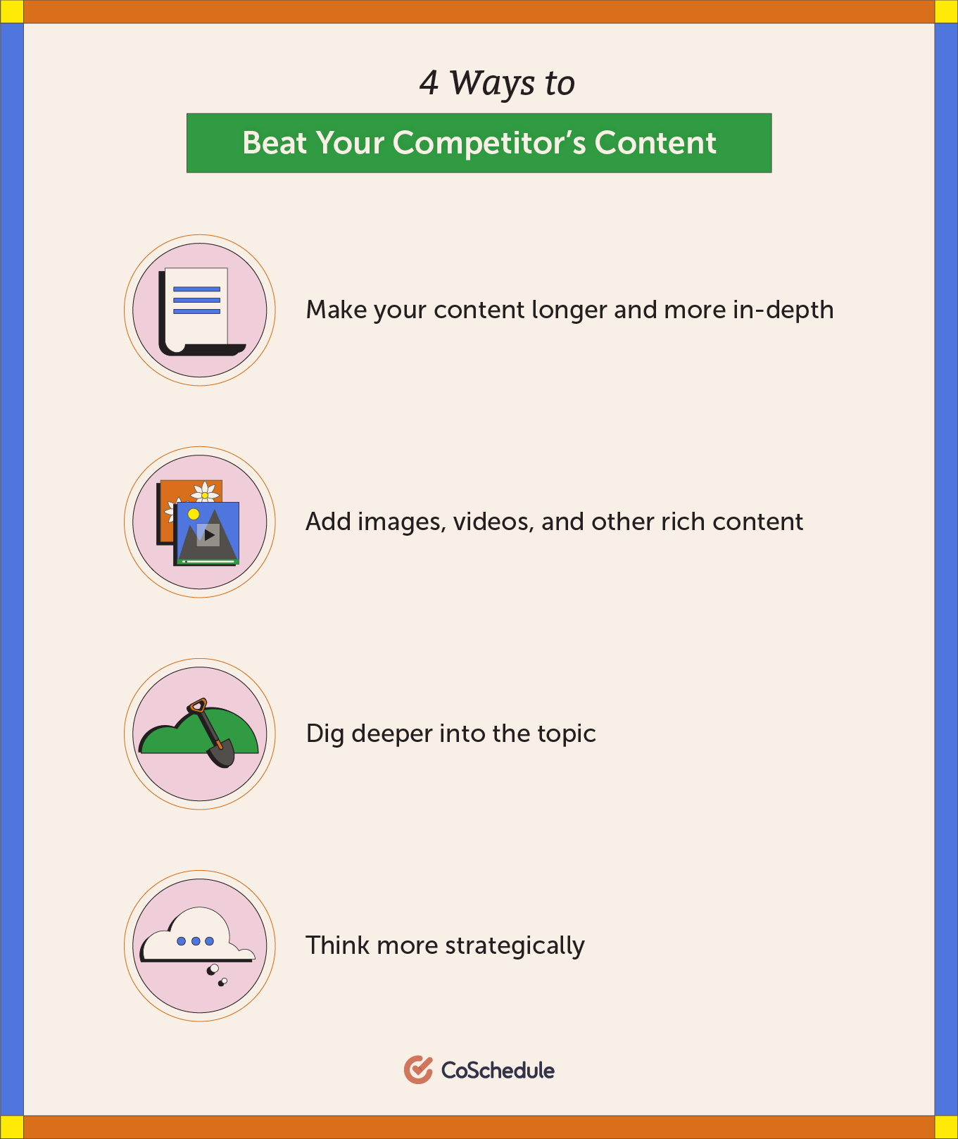 4 ways to compete with your competitor's content