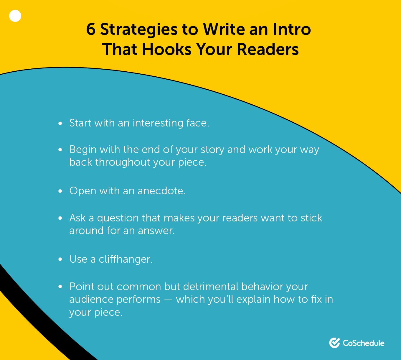 Write an intro that hooks readers