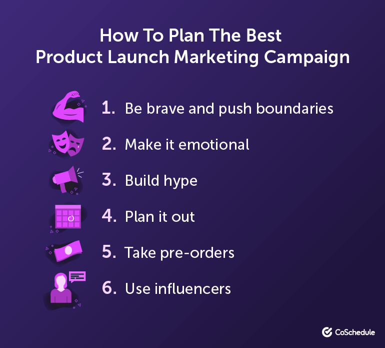 How To Plan The Best New Product Launch Marketing Campaign