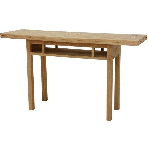 console extensible style contemporain bois massif mahon