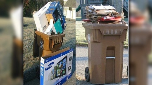 Hanahan Police remind citizens about leaving empty packages by the road after Christmas