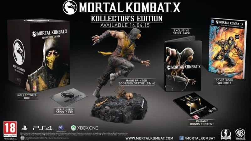 Mortal Kombat X Kollector S Editions Execute A Fatality On Your