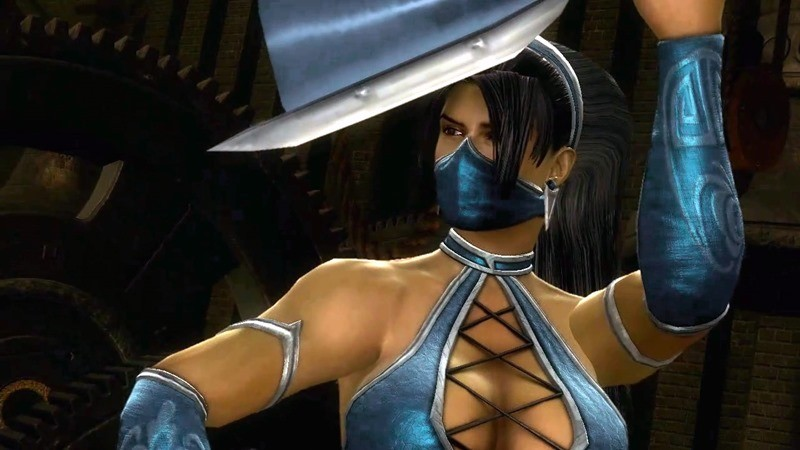 Kitana in Mortal Kombat 9
