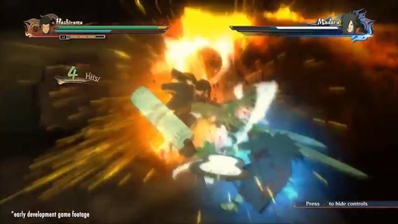 Naruto Shippuden Ultimate Ninja Storm 4 is looking damn good