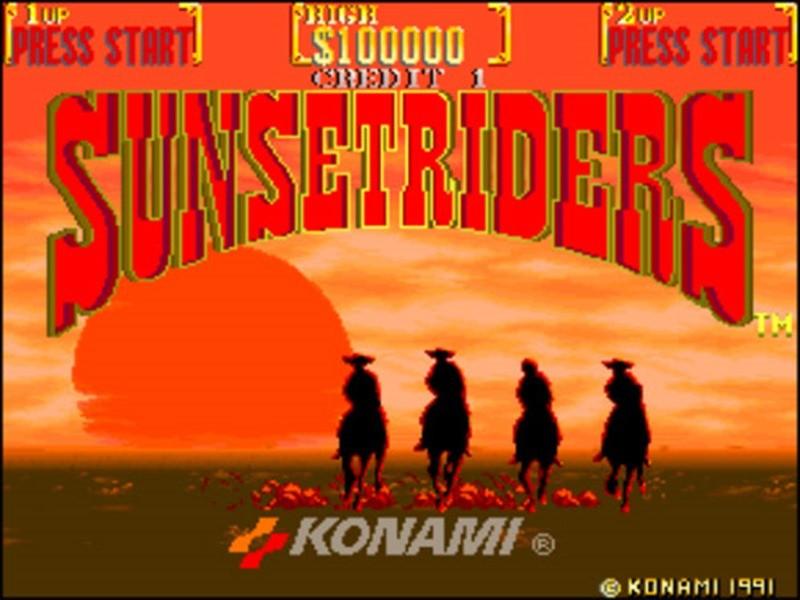 Sunset Riders (3)
