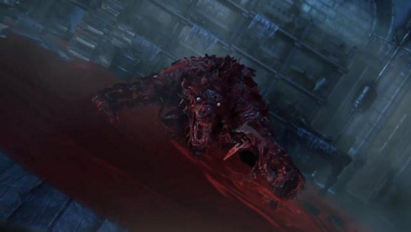 Bloodborne blood monster
