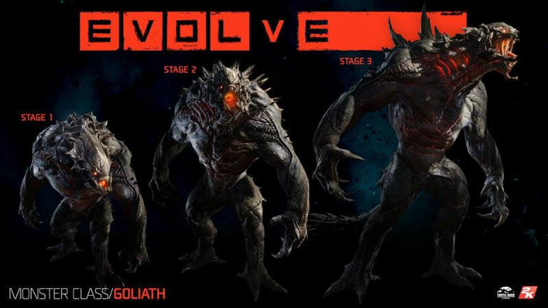 Evolve goliath