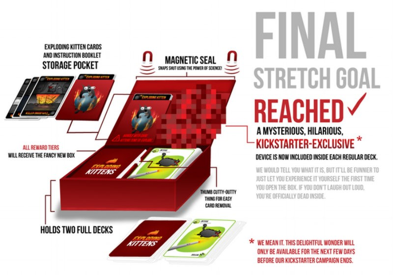 Exploding kitten stretch