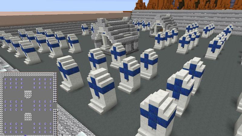 Minecraft zelda graveyard