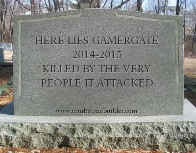 GamerGaters lost and that really isn't good 3