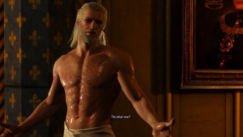 Topless Geralt