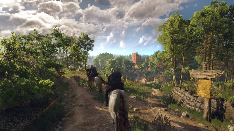 The Witcher 3 looks drop dead gorgeous on Nvidia's console 2
