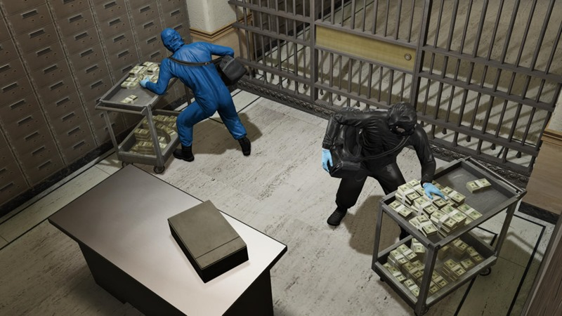 Rockstar teases GTA V Heists with stunning screenshots 2