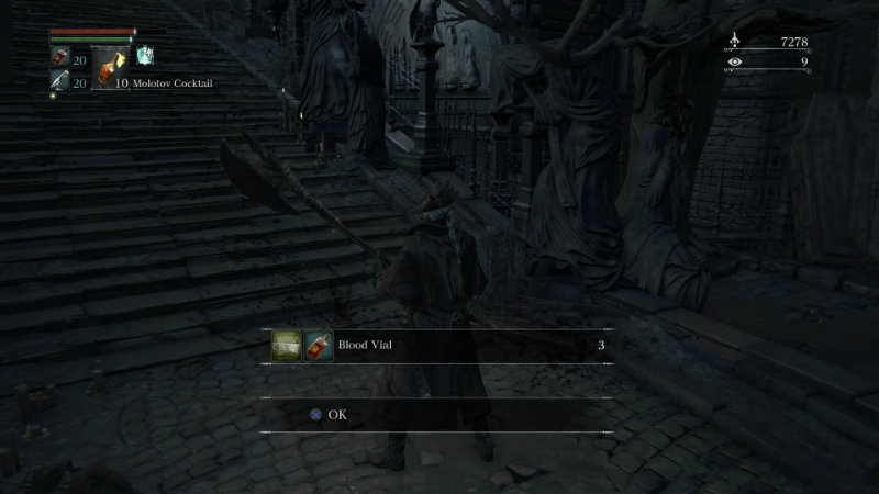 Bloodborne sent to chest