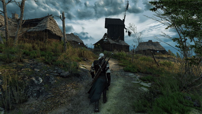 The Witcher 3 4K downsampled