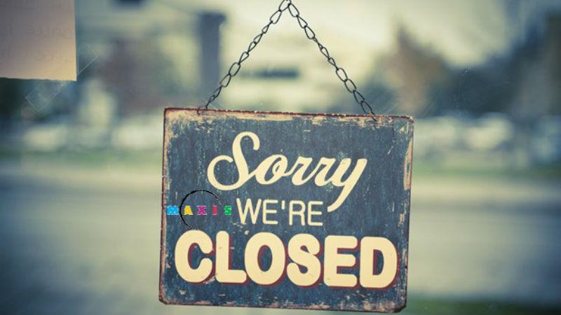Maxis closed